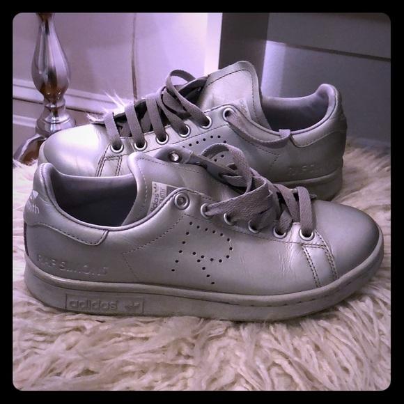 Raf Simons Shoes - RAF Simons Adidas Stan Smith metallic sneaker